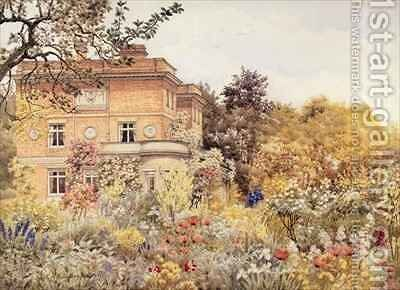 Kiftsgate Court, Gloucestershire by Charles A. Brindley - Reproduction Oil Painting