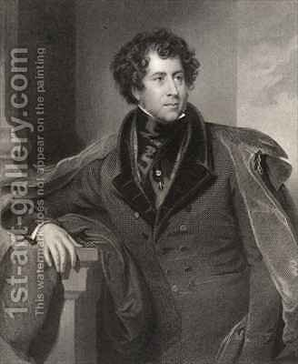 Constantine Henry Phipps, 1st Marquess of Normanby by (after) Briggs, Henry Perronet - Reproduction Oil Painting