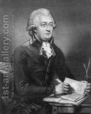 Reverend Thomas Clarkson, M.A. (1760-1846) by (after) Breda. Carl Frederik van - Reproduction Oil Painting