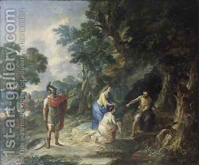 Coriolanus by Jacques-Raymond Brascassat - Reproduction Oil Painting