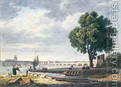 Bordeaux by (after) Brascassat, Jacques Raymond - Reproduction Oil Painting