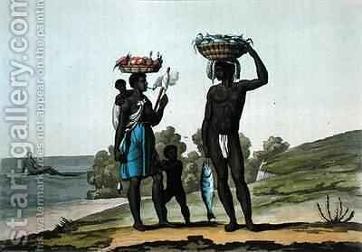 Black Slaves under a Good Master, Guyana by Bramati - Reproduction Oil Painting