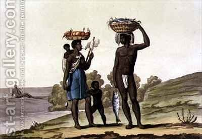 Negroes under a Good Master by Bramati - Reproduction Oil Painting