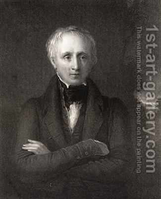 William Wordsworth by (after) Boxall, William - Reproduction Oil Painting