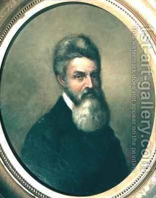 John Brown (1800-59) by David Bustille Bowser - Reproduction Oil Painting