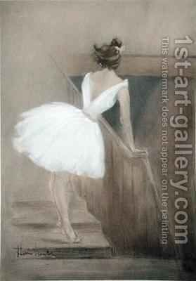 In the Wings, from 'L'Estampe Moderne' by Henri Boutet - Reproduction Oil Painting