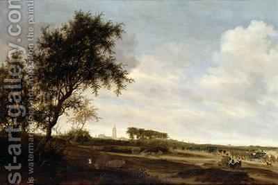Wooded Landscape by Boudewyns - Reproduction Oil Painting