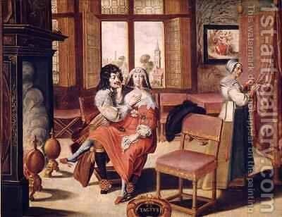 The Five Senses - Touch by (after) Bosse, Abraham - Reproduction Oil Painting