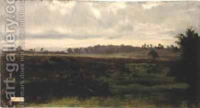 Marshlands by Auguste Bonheur - Reproduction Oil Painting
