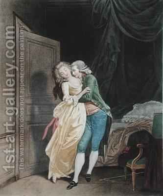Sweet Resistance by (after) Boilly, Julien Leopold - Reproduction Oil Painting