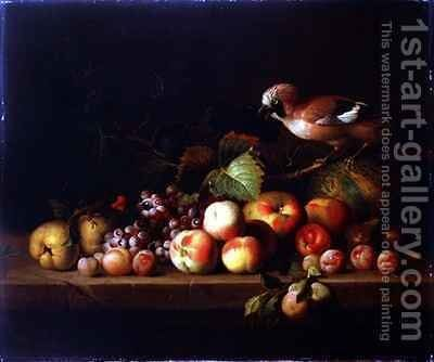 Still Life with a Jay by (after) Boggi, Giovanni - Reproduction Oil Painting