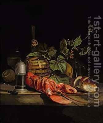 Still Life of a Lobster by (after) Boggi, Giovanni - Reproduction Oil Painting