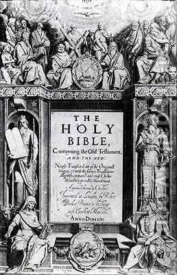 Frontispiece to 'The Holy Bible' by Cornelis Boel - Reproduction Oil Painting