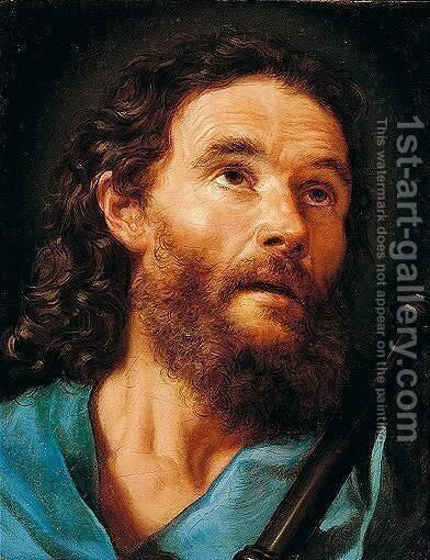 Saint James The Greater by Benedetto Luti - Reproduction Oil Painting