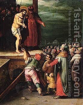 Ecce Homo by (after) Frans II Francken - Reproduction Oil Painting