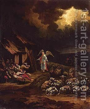 The Annunciation To The Shepherds 2 by Adam Colonia - Reproduction Oil Painting