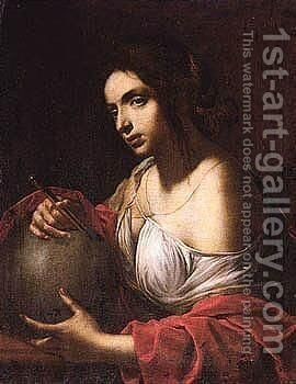An Allegory Of Geometry by (after) Giovanni Martinelli - Reproduction Oil Painting