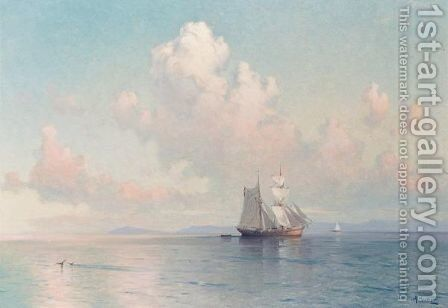 Calm Seas by Aleksei Vasilievich Hanzen - Reproduction Oil Painting