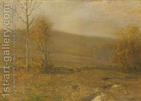 Mellow Autumn by Bruce Crane - Reproduction Oil Painting