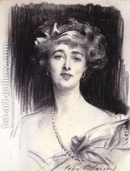 Daisy, Princess Of Pless by Sargent - Reproduction Oil Painting