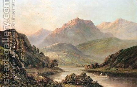 On The Teith, Scotland by Graham Williams - Reproduction Oil Painting