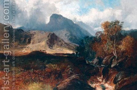 Ben Nevis by Clarence Roe - Reproduction Oil Painting