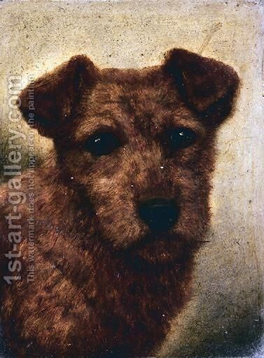 Welsh Border Collie by (after) John Arnold Wheeler - Reproduction Oil Painting