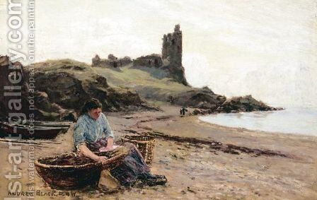 The Coastal Fort by Andrew Black - Reproduction Oil Painting