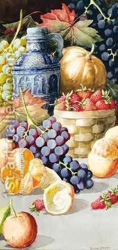 Still Life by Giovanni Barbaro - Reproduction Oil Painting