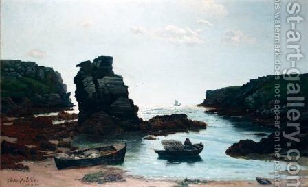 Ile De Croix by Elodie Jacquier La Villette - Reproduction Oil Painting