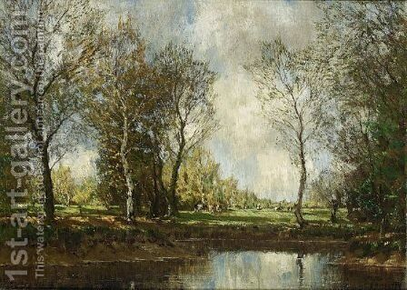 The Vordense Beek 2 by Arnold Marc Gorter - Reproduction Oil Painting