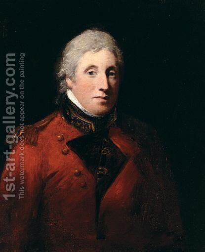 Portrait Of Frank Carter by (after) Sir Martin Archer Shee - Reproduction Oil Painting