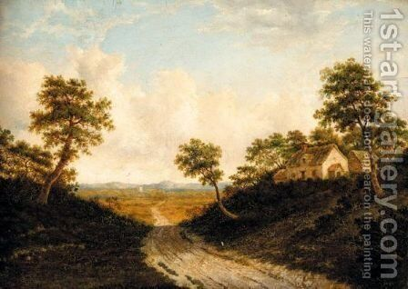 Cottage By A Path by Charles Eliot - Reproduction Oil Painting