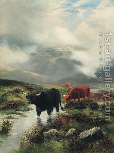 Misty Sunshine by Daniel Sherrin - Reproduction Oil Painting