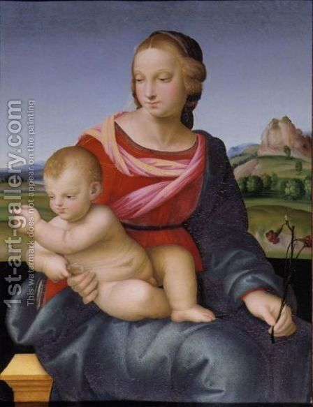 Madonna And Child by Domenico Alfani - Reproduction Oil Painting