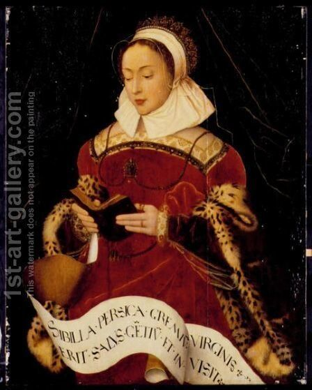 The Persian Sibyl by Ambrosius Benson - Reproduction Oil Painting