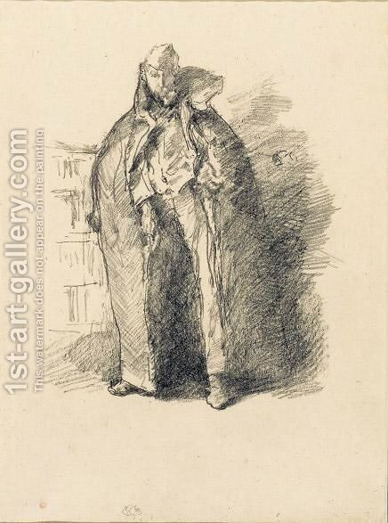 The Russian Schube by James Abbott McNeill Whistler - Reproduction Oil Painting