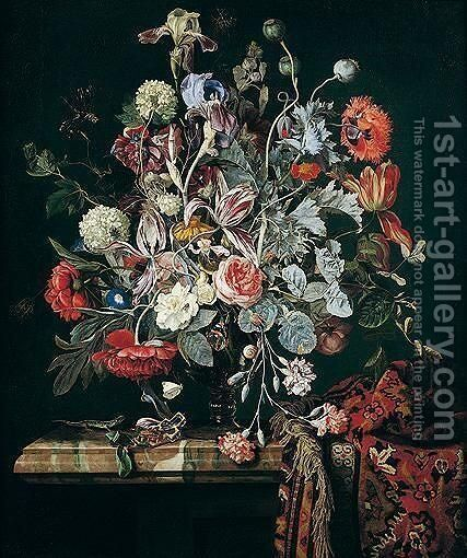 Still life by Hendrik de Fromantiou - Reproduction Oil Painting