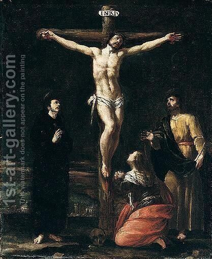 Crucifixion by Bernardo Strozzi - Reproduction Oil Painting