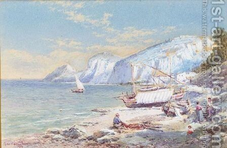 Capri by Charles Rowbotham - Reproduction Oil Painting