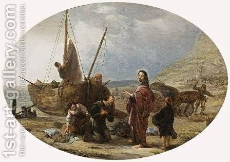 The Calling Of St Peter And St Andrew by Jacob Willemsz de Wet the Elder - Reproduction Oil Painting