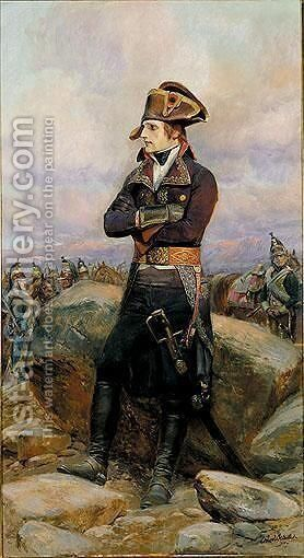 Napoleon by Detaille Eduard - Reproduction Oil Painting