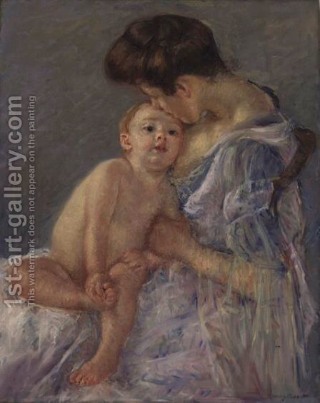 Maternite 2 by Mary Cassatt - Reproduction Oil Painting