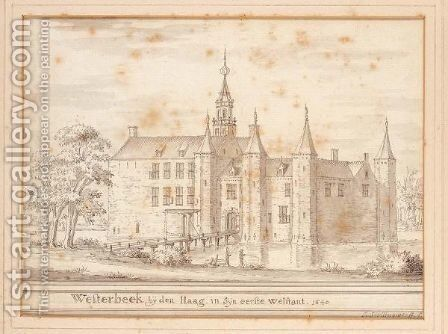 A View Of Castle Westerbeek by Jacobus Stellingwerff - Reproduction Oil Painting