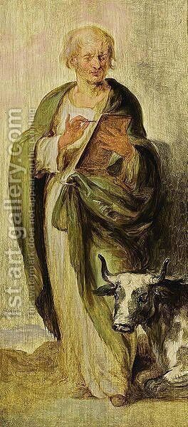 St. Luke by (after) Dyck, Sir Anthony van - Reproduction Oil Painting