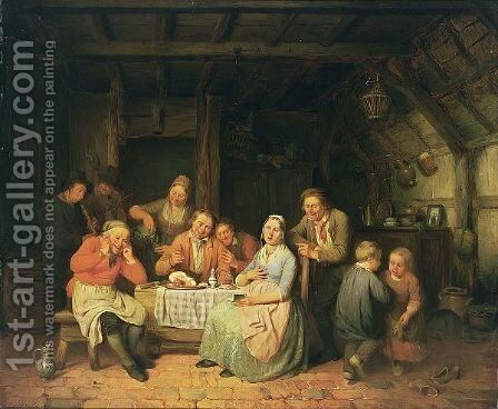 The Singing Exercise by Charles Venneman - Reproduction Oil Painting