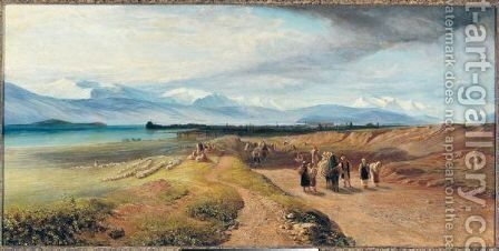 Ioannina 2 by Edward Lear - Reproduction Oil Painting