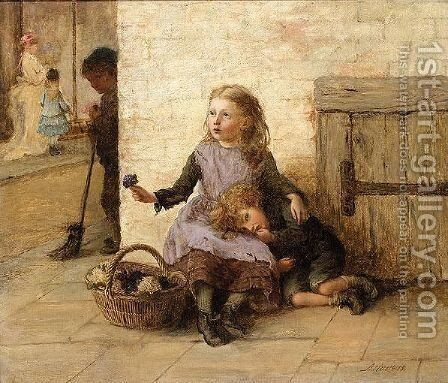 'Tis A Very Good World by Alice Mary Havers - Reproduction Oil Painting