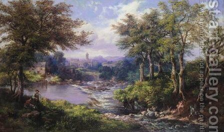 A View Near Stirling Castle by Mcneil Mcleay - Reproduction Oil Painting
