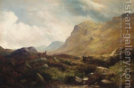 The Sanctuary On The Cairngorms by James Douglas Moultray - Reproduction Oil Painting